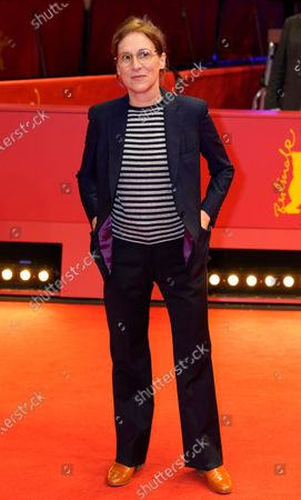 Kelly Reichardt arrives for the premiere of 'First Cow' during the 70th annual Berlin International Film Festival (Berlinale), in Berlin, Germany, 22 February 2020. The movie is presented in the Official Competition at the Berlinale that runs from 20 February to 01 March 2020.