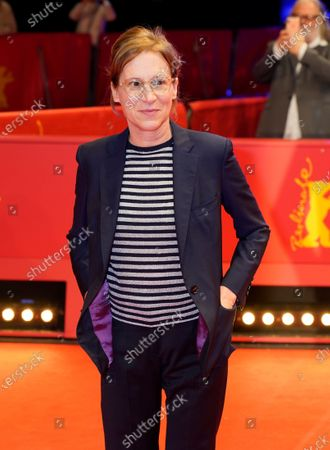 Stock Image of Kelly Reichardt arrives for the premiere of 'First Cow' during the 70th annual Berlin International Film Festival (Berlinale), in Berlin, Germany, 22 February 2020. The movie is presented in the Official Competition at the Berlinale that runs from 20 February to 01 March 2020.
