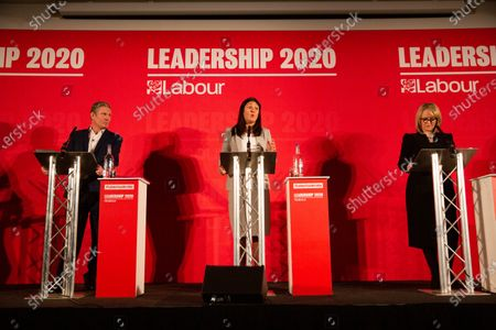 Editorial photo of Labour leadership hustings, Holiday Inn West, Peterborough, UK - 22 Feb 2020