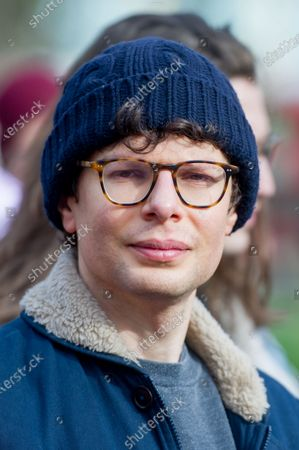 Simon Amstell at the 'Enough is enough, Together we march'