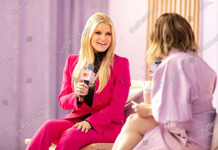Stock Image of Jessica Simpson and Jaclyn Johnson at Create & Cultivate Los Angeles presented by Mastercard