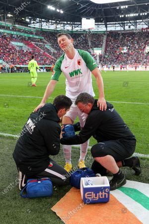 Editorial image of Football: Germany, 1. Bundesliga, Augsburg - 15 Feb 2020
