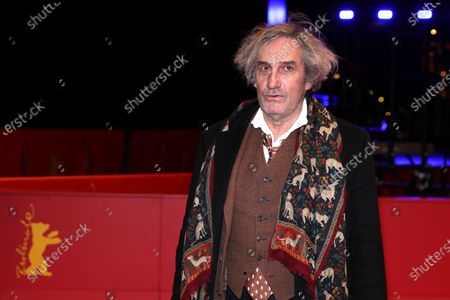 Stock Picture of Philippe Garrel arrives for the premiere of 'Le Sel Des Larmes (The Salt of Tears)' during the 70th annual Berlin International Film Festival (Berlinale), in Berlin, Germany, 22 February 2020. The movie is presented in the Official Competition at the Berlinale that runs from 20 February to 01 March 2020.