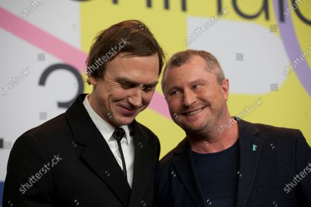 Lars Eidinger and Vadim Perelman
