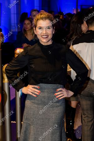 Anke Engelke attends the ARD Blue Hour reception during the 70th annual Berlin International Film Festival (Berlinale), in Berlin, Germany, 21 February 2020. The Berlinale runs from 20 February to 01 March 2020.