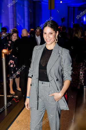 Jasmin Gerat attends the ARD Blue Hour reception during the 70th annual Berlin International Film Festival (Berlinale), in Berlin, Germany, 21 February 2020. The Berlinale runs from 20 February to 01 March 2020.