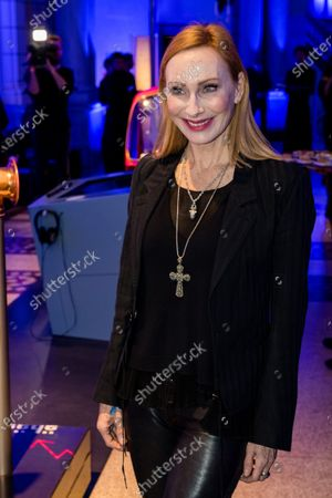 Andrea Sawatzki attends the ARD Blue Hour reception during the 70th annual Berlin International Film Festival (Berlinale), in Berlin, Germany, 21 February 2020. The Berlinale runs from 20 February to 01 March 2020.