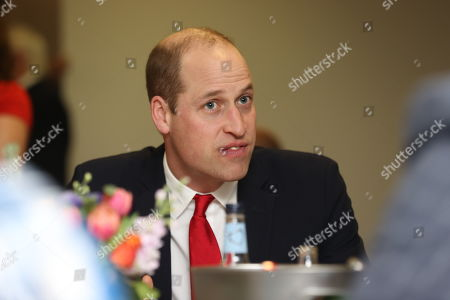 Prince William attends the Six Nations match between Wales and France at the Principality Stadium