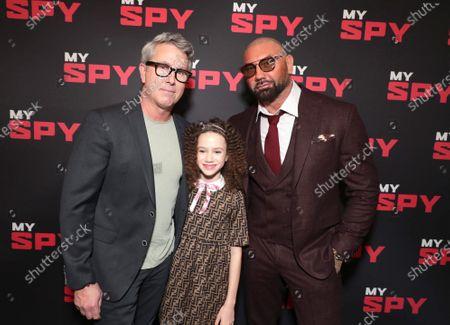 Editorial photo of STXFilms MY SPY influencer screening, Los Angeles, USA - 22 February 2020