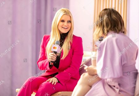 Jessica Simpson at Create & Cultivate Los Angeles presented by Mastercard at Rolling Greens on in Los Angeles