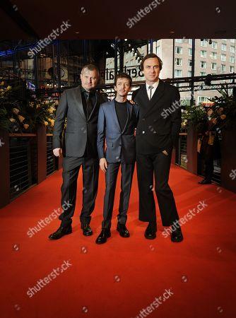 Vadim Perelman, Nahuel Biscayart and Lars Eidinger