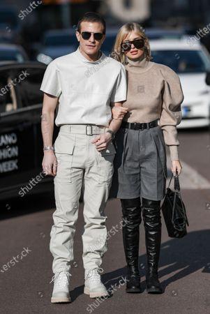 Carlo Sestini and Xenia Adonts