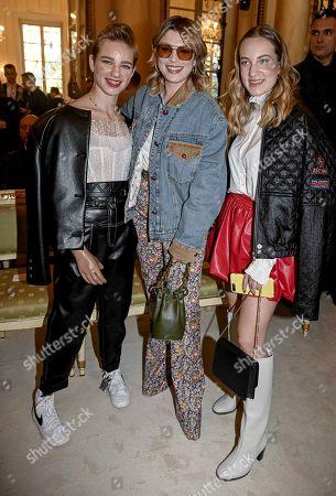 Maria Sole Vio, Bebe Vio and Emma Marrone