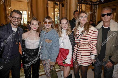 Simone Marchetti, Maria Sole Vio, Bebe Vio, Emma Marrone and Anna Dello Russo