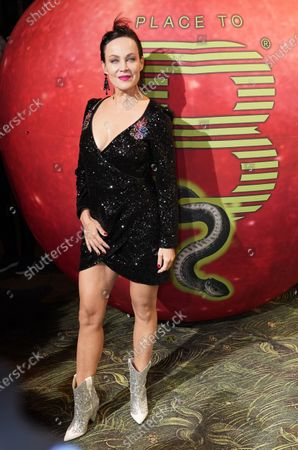 Sonja Kirchberger arrives for the Place To B-Party during the 70th annual Berlin International Film Festival (Berlinale), in Berlin, Germany, 22 February 2020. The Berlinale runs from 20 February to 01 March 2020.