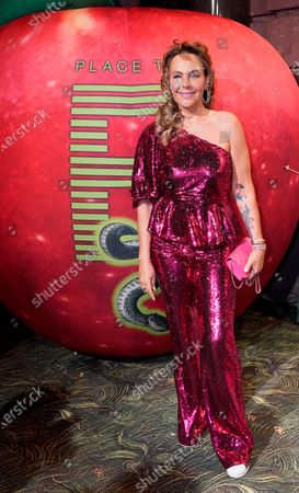 Natascha Ochsenknecht arrives for the Place To B-Party during the 70th annual Berlin International Film Festival (Berlinale), in Berlin, Germany, 22 February 2020. The Berlinale runs from 20 February to 01 March 2020.
