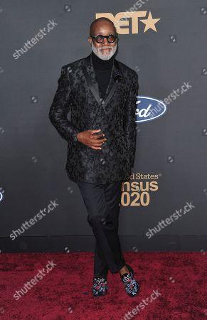 Jonathan Slocumb arrives at the 51st NAACP Image Awards at the Pasadena Civic Auditorium, in Pasadena, Calif