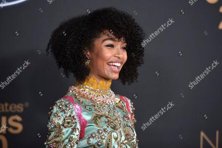 Yara Shahidi arrives at the 51st NAACP Image Awards at the Pasadena Civic Auditorium, in Pasadena, Calif
