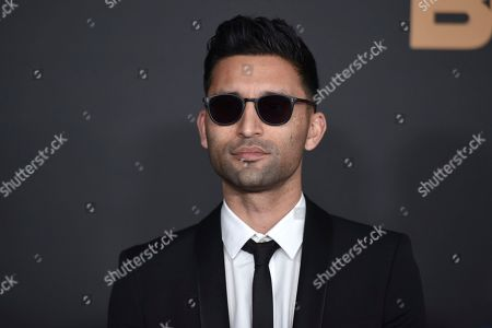 Stock Picture of Justin Tipping arrives at the 51st NAACP Image Awards at the Pasadena Civic Auditorium, in Pasadena, Calif