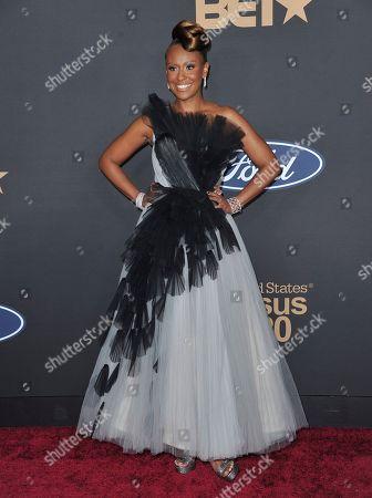 Ryan Michelle Bathe arrives at the 51st NAACP Image Awards at the Pasadena Civic Auditorium, in Pasadena, Calif