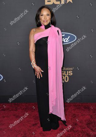 Lynn Whitfield arrives at the 51st NAACP Image Awards at the Pasadena Civic Auditorium, in Pasadena, Calif