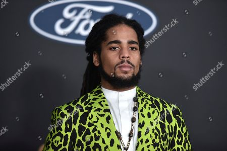Skip Marley arrives at the 51st NAACP Image Awards at the Pasadena Civic Auditorium, in Pasadena, Calif
