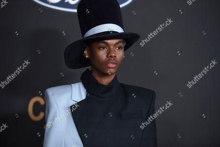 Stock Picture of Jahi Di'Allo Winston arrives at the 51st NAACP Image Awards at the Pasadena Civic Auditorium, in Pasadena, Calif