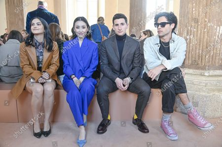 Editorial photo of Salvatore Ferragamo show, Front Row, Fall Winter 2020, Milan Fashion Week, Italy - 22 Feb 2020