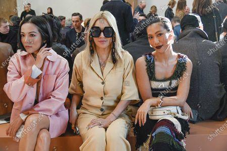Tina Leung, Molly Chang and guest
