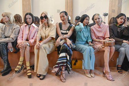 Tina Leung, Molly Chang, Nausheen Shah, Leonie Hanne and guests