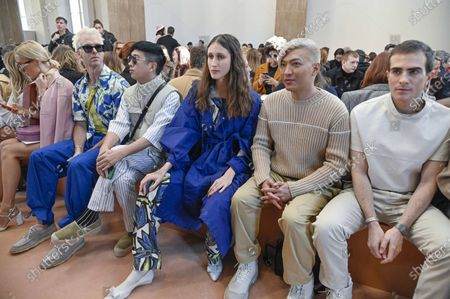 Editorial picture of Salvatore Ferragamo show, Front Row, Fall Winter 2020, Milan Fashion Week, Italy - 22 Feb 2020