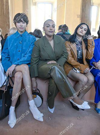 Hikari Mori, Paloma Elsesser and Camila Mendes