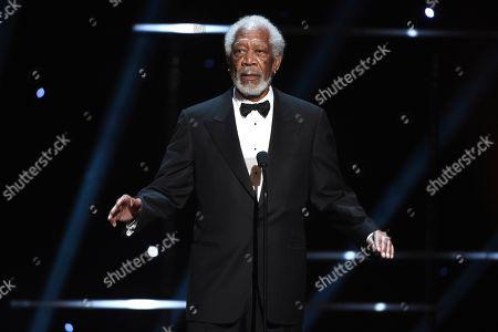 Morgan Freeman at the 51st NAACP Image Awards at the Pasadena Civic Auditorium, in Pasadena, Calif