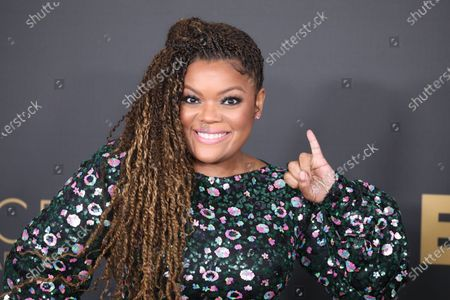 Yvette Nicole Brown arrives at the 51st NAACP Image Awards at the Pasadena Civic Auditorium in Pasadena, California, USA, 22 February 2020.