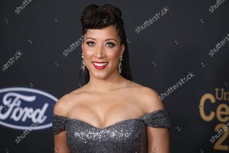 Robin Thede arrives at the 51st NAACP Image Awards at the Pasadena Civic Auditorium in Pasadena, California, USA, 22 February 2020.