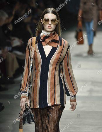 Editorial photo of Missoni show, Runway, Fall Winter 2020, Milan Fashion Week, Italy - 22 Feb 2020