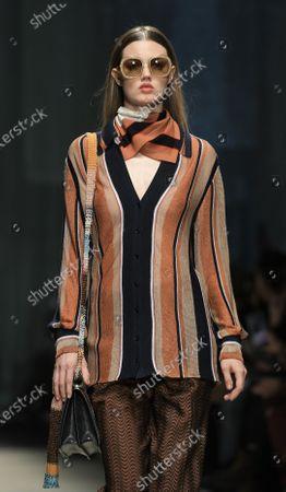 Editorial image of Missoni show, Runway, Fall Winter 2020, Milan Fashion Week, Italy - 22 Feb 2020