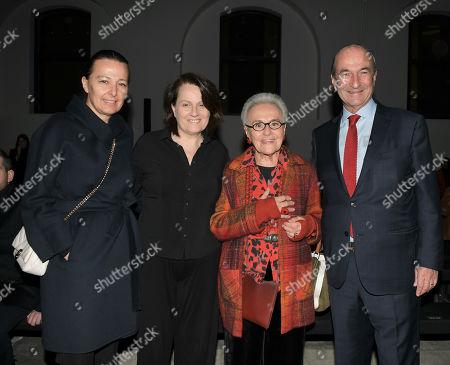 Stock Photo of Stefania Lazzaroni, Maria Silvia Sacchi, Rosita Missoni and Michele Norsa