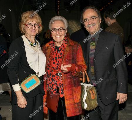 Stock Image of Rosita Missoni, Maurizio Nichetti and wife