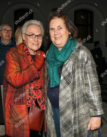 Stock Photo of Rosita Missoni and Suzy Menkes