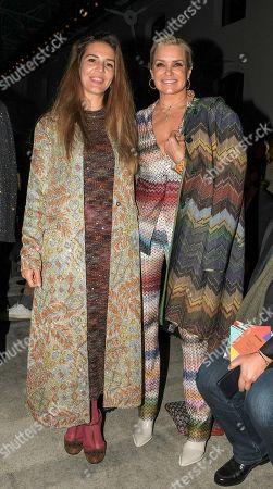 Yolanda Hadid and Margherita Missoni