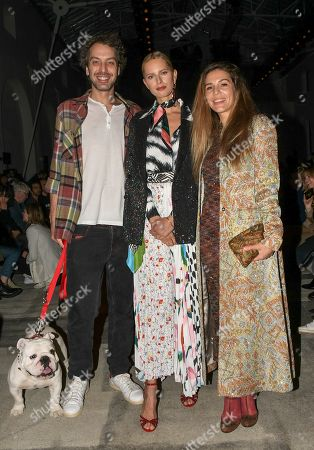 Editorial picture of Missoni show, Front Row, Fall Winter 2020, Milan Fashion Week, Italy - 22 Feb 2020