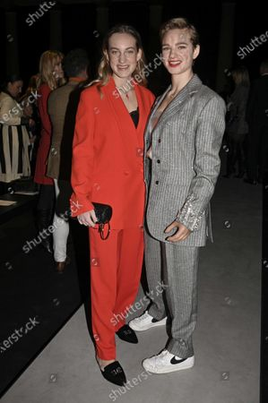 Stock Photo of Maria Sole and Bebe Vio