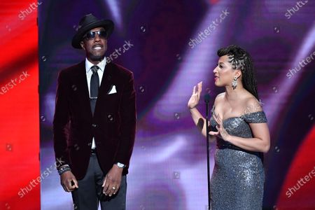 J.B. Smoove and Robin Thede