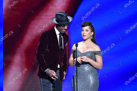 Stock Picture of J.B. Smoove and Robin Thede