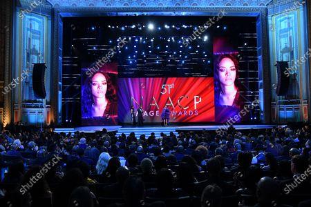 Redactionele foto van 51st Annual NAACP Image Awards, Show, Pasadena Civic Auditorium, Los Angeles, USA - 22 Feb 2020