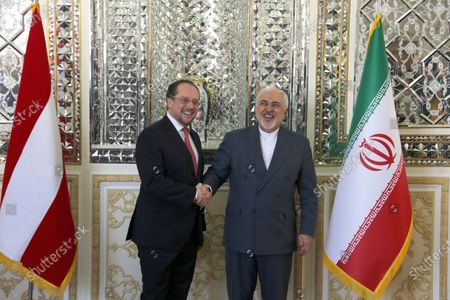 Editorial photo of Austria Foreign Minister Schallenberg in Tehran, Iran Islamic Republic Of - 23 Feb 2020