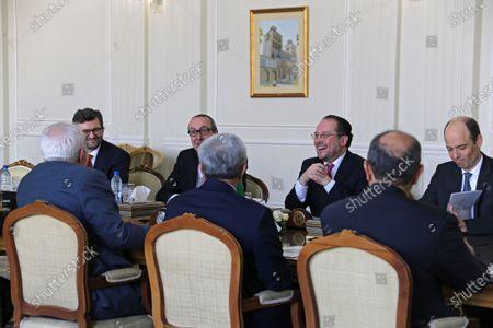 Editorial picture of Austria Foreign Minister Schallenberg in Tehran, Iran Islamic Republic Of - 23 Feb 2020