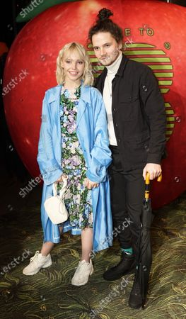 Stock Photo of Lina Larissa Strahl (L) and Tilman Poerzgen arrive for the Place To B-Party during the 70th annual Berlin International Film Festival (Berlinale), in Berlin, Germany, 22 February 2020. The Berlinale runs from 20 February to 01 March 2020.