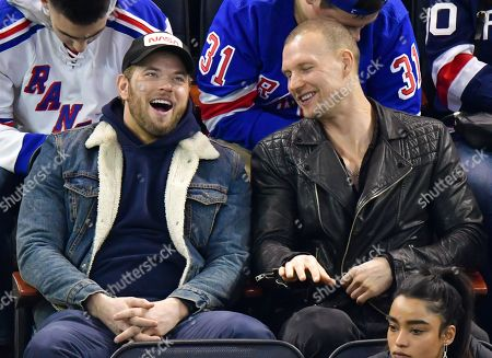 Editorial image of Celebrities attend San Jose Sharks v New York Rangers, NHL Ice Hockey game, Madison Square Garden, New York, USA - 22 Feb 2020